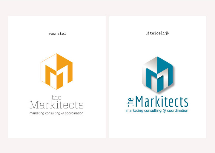 Ontwerp logo's the Markitects