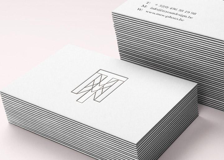 ontwerp logo & 'try-out' visitekaartje Marie-Thérèse Willemsen Fotografie